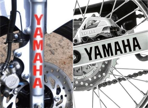 Kit 4x Adesivos Yamaha Bengala E Balança Frete Grátis A917