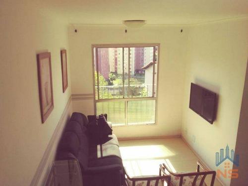 Imagem 1 de 23 de Apartamento À Venda, 52 M² Por R$ 280.000,00 - Jardim Marajoara - São Paulo/sp - Ap12927