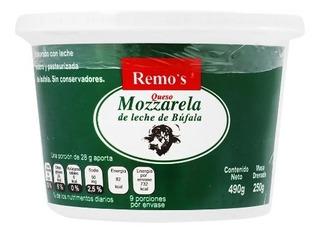 500 Gr Queso Mozzarella De Leche De Bufalo