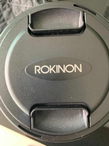 Lente Cine Rokinon 35mm 1.5 For Sony