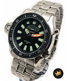 Relógio De Luxo Masculino Original Aprova D