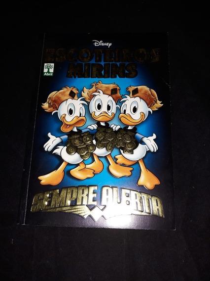 Revista Disney Escoteiros Mirins Sempre Alerta Ed. Abril