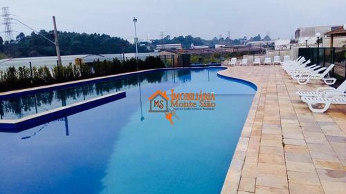 Apartamento À Venda, 48 M² Por R$ 205.000,00 - Água Chata - Guarulhos/sp - Ap2806