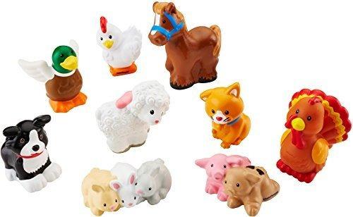 Fisher-price Little People Animal De Granja Amigos Con Conej