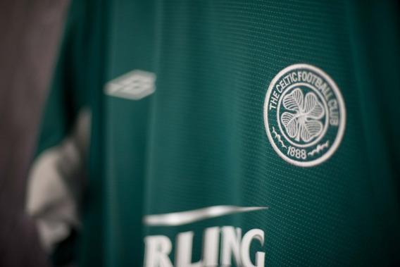 Celtic Esc 2004/05 Umbro Uniforme 2 Tamanho Gg