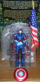 Marvel Select Avengers Vengadores Man Iron Patriot Ko