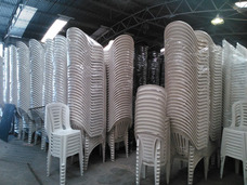 Alquiler Sillas Plasticas Y Tablones Living Puff Pisa Led Jd