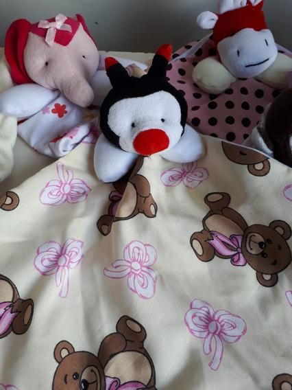 2 Paninhos De Boca Naninha Para Bebê