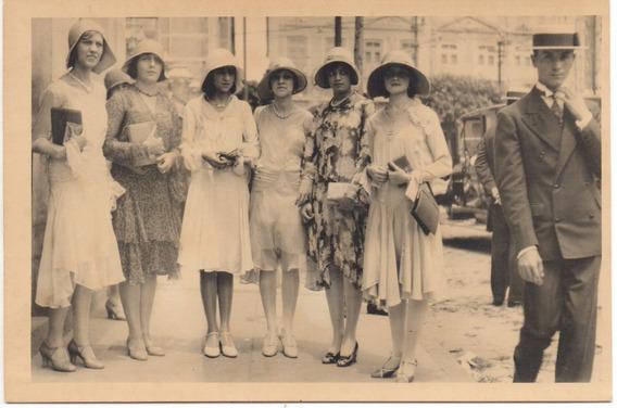 Antiguidade Bahia Anos 1920 Foto Engenheiro Paturi E Família