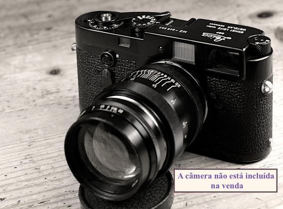 Lente 85mm F 2.0 Jupiter9 -15 Laminas Ltm39 Leica (rosca)