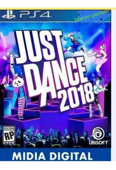 Just Dance 2018 Ps4 Digital Primária Vitalício