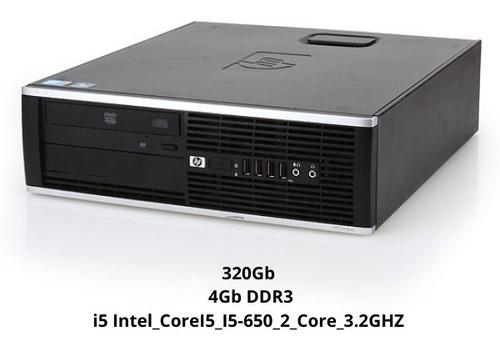 Imagem 1 de 5 de Cpu Computador Pc I5 Hp Compaq 8100 4gb Windows 7