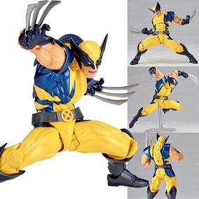 Boneco Wolverine Articulado Logan Revoltech Marvel X Men