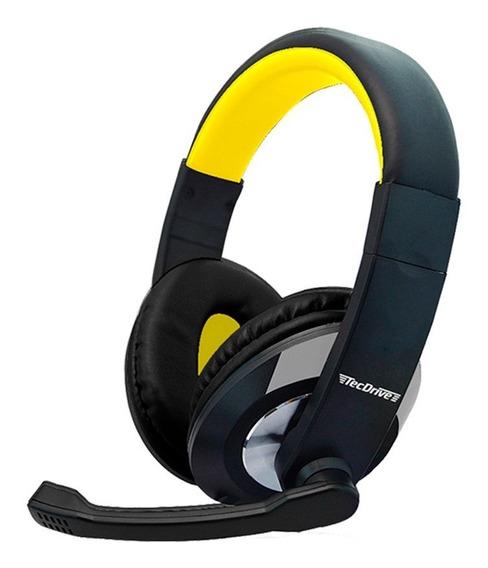 Headset Gamer Pc Tecdrive F-2 Fone Microfone Varias Cores