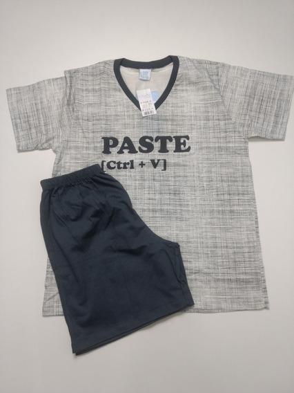 Pijama Infantil Menino 12 E 16 Copia E Cola