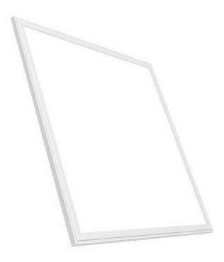 Luminária Plafon Led Slim 60x60 48w Embutir Branco Quente