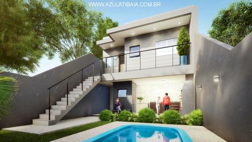 Imagem 1 de 20 de Casa Nova Em Construção, Bairro Nova Atibaia, Bairro Residencial  De Ruas Asfaltadas Próximo Av Comercial, - Ca01378 - 69571061