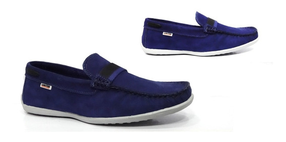 Sapato Infantil Couro Laroche Frete Gratis Azul Royal 005477