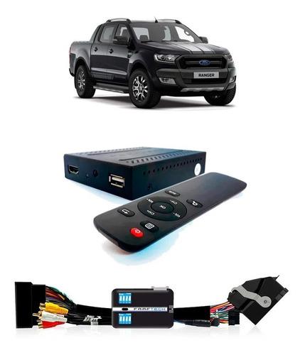 Imagem 1 de 3 de Desbloqueio De Multimídia Com Tv Full Hd Ford Ranger 2016/20