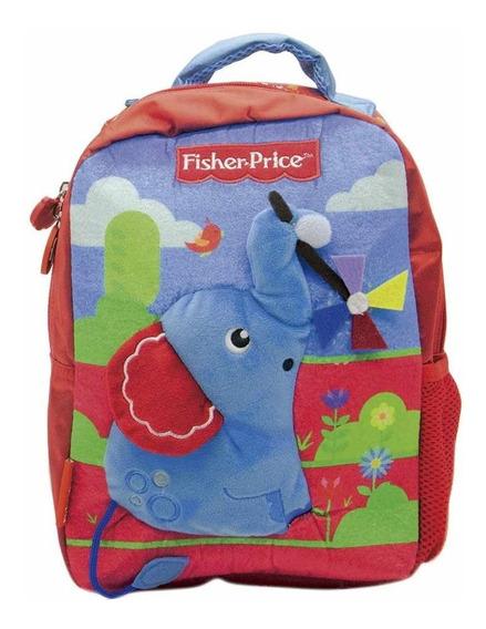 Mochila Fisher Price Elefante Cresko