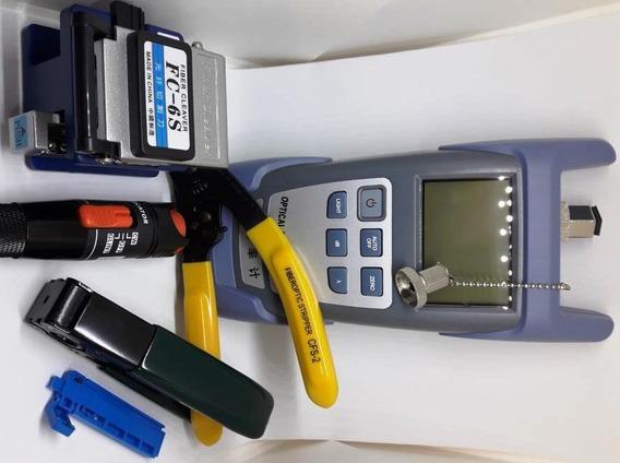 Kit Ftth Power Meter Clivador Cfs-2 Vfl