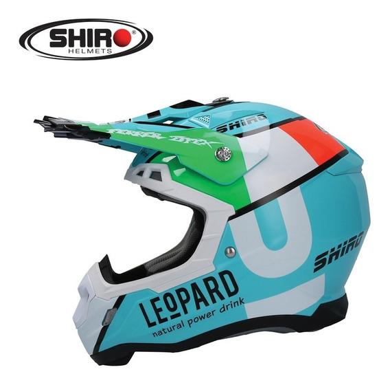 Capacete Shiro Mx-917 Leopard
