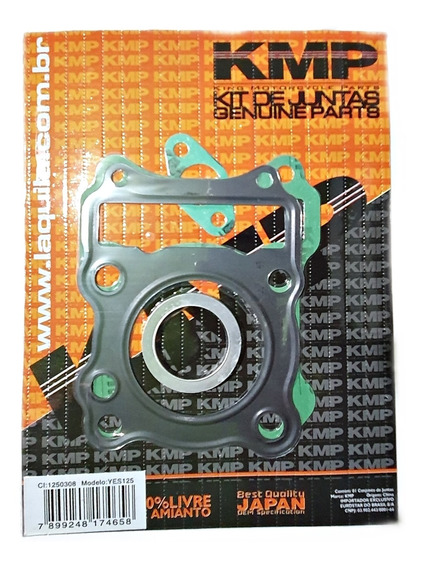 Kit A Juntas Superior Cabeçote Suzuki Yes125 Yes 125 Kmp