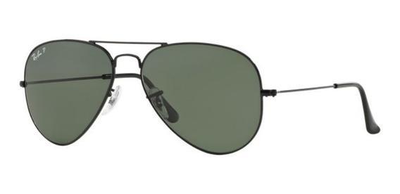 Oculos Sol Ray Ban Aviador Rb3025 002/58 62mm G15 Polarizado