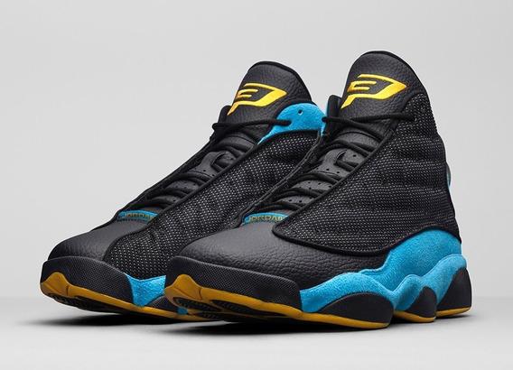 Tenis Nike Air Jordan 13 Cp Pe Cp3 Chris Paul Retro Negro Talla 26.5mx 8.5us