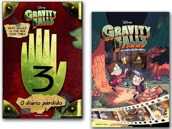 Combo Gravity Falls Um Verão De Mistérios+ Diário Perdido 3