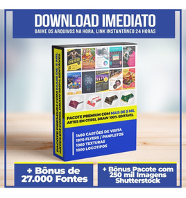 Mais De 5.000 Artes Editáveis Corel Draw + Bônus Exclusivos