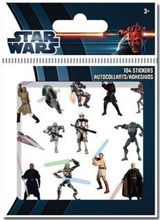 104 Calcamonias Pegatinas Stikers Star Wars Alta Calidad