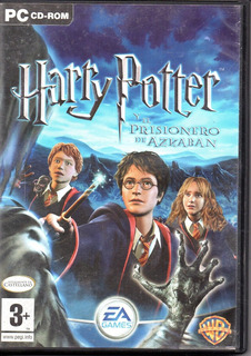 Harry Potter Y El Prisionero De Azkaban Cd Rom Juego Pc