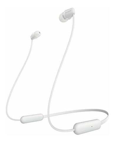 Imagen 1 de 4 de Sony Wi-c200 Auriculares Inalambricos Intrauditivos, Blanco