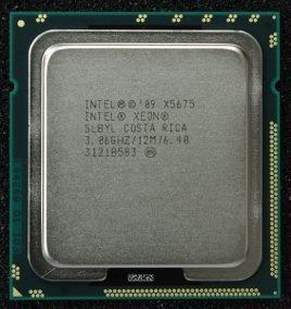 Xeon X5675 - 3,06 Ghz / 3,46 Ghz - Lga 1366 - 6 Cores