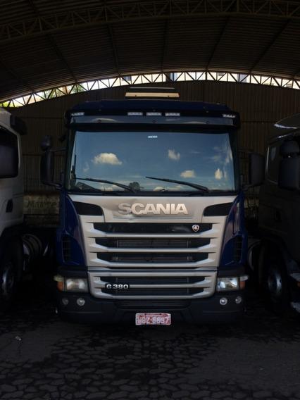 Scania G 380 6x2 Azul Ano Fabricação: 2010 Modelo: 2011