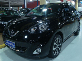 Nissan March Sl 1.6 Flex 2017 Preto (22.000 Km / Completo)