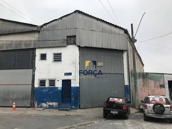 Galpão Para Alugar, 316 M² Por R$ 5.000,00/mês - Vila Itapegica - Guarulhos/sp - Ga0677