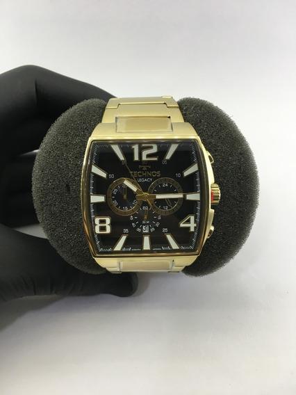 Relógio De Pulso Technos Cronógrafo Ref:js25ar/1d