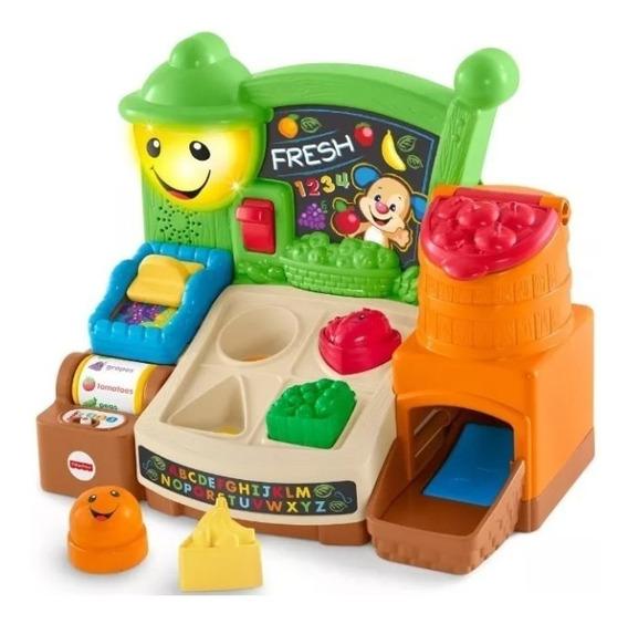 Brinquedo Mercado Divertido Fisher Price Aprender E Brincar