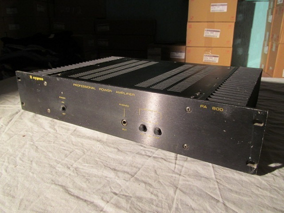 Cygnus Professional Power Amplifier Pa-800