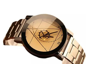 Relógio Feminino Pulseira Em Aço Inox