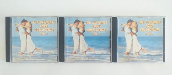 Love Collection Lote 3 Cds Jazz Soul Pop Oldies Caba Envíos