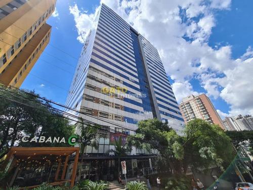 Sala Comercial Para Venda Em Barueri, Dezoito Do Forte Empresarial/alphaville., 1 Banheiro, 2 Vagas - 21102_1-1784636