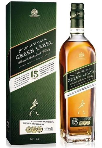 Whisky Johnnie Walker Green Label 750ml En Estuche