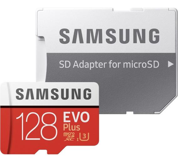 Memoria Micro Sd C/ Adaptador Samsung Evo Plus 128gb