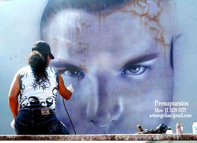 Murales Graffitis Angel Kaz Graffitero Presupuestos,
