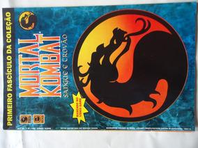 Revista Mortal Kombat Num,ero 1 Baseado No Game