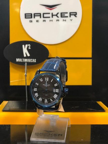 Relógio Analógico Backer Germany 16204232m- 100% Original