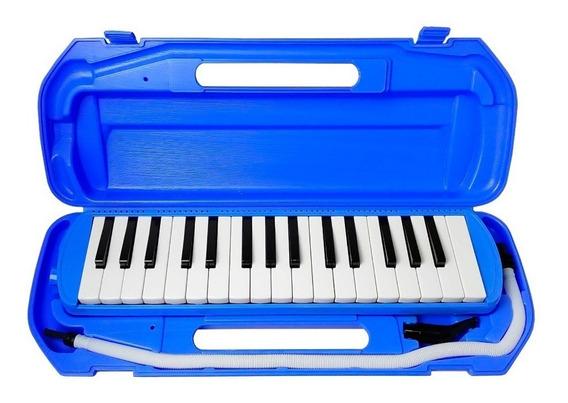 Escaleta Csr Pianica 32 Teclas Azul Claro